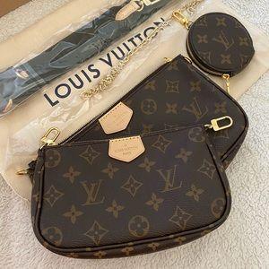 NEW Louis Vuitton Multi Pochette Accessoires